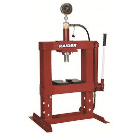 Преса хидравлична 10т настолна с манометър RAIDER RD-HP02