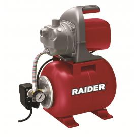 """Хидрофор RAIDER RD-WP1200J /1200W, 64 l/min, Н48м, 1""""/"""