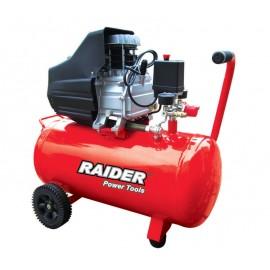 Компресор RAIDER RD-AC02 /1500W, 50л, 0.8 MPa/