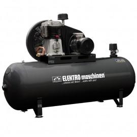 Компресор с електродвигател с ремъчна предавка 11 bar, 500 л, 7.5 к.с., 400 V REM Power E 892/11/500