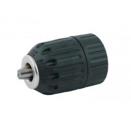 """Патронник за бормашина 3/8"""", 10 мм, самозатягащ, пластмасов и адаптер 1/4"""" RAIDER"""