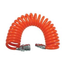 Маркуч полиуретанов за компресор Ø 6,5х9,5 мм, 5 м с бързи връзки, 1/4M&F RD-CH03 RAIDER
