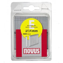 Гвоздеи за такер 14х1.2 мм, 1000 бр., Тип Е, J/14 Novus