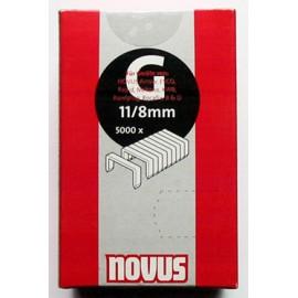 Кламер за такер 10 мм, 5000 бр., Тип 11 Novus