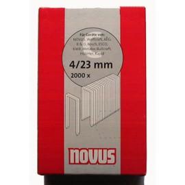 Кламер за такер 23 мм, 2000 бр., Тип 4 Novus
