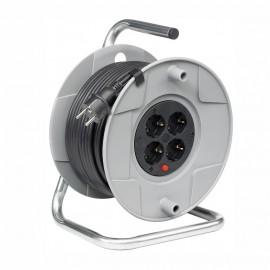 Удължител на макара с кабел 50 м, 3х1,5 мм, 4-контакта Hugo Brennenstuhl GmbH 1099160001