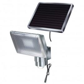 Прожектор светодиоден със сензор 8х0.5 W LED, 130°-10 м, SOL 80 ALU Hugo Brennenstuhl GmbH
