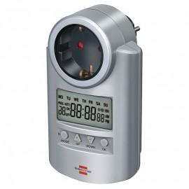 Реле за време с контакт LCD дисплей, 16А, 230V, седмично, DT 1507500 Hugo Brennenstuhl GmbH