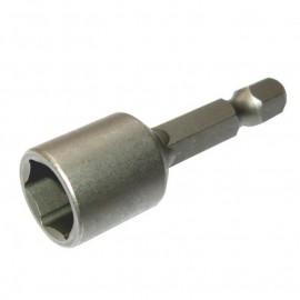 """Накрайник вложка 6-стен, 1/4"""", SW8.0х45 мм, без магнит Narex Bystrice 8386"""