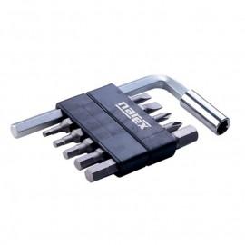 Комплект накрайник с битове PH/SB/SW, 12 броя Narex Bystrice 8875