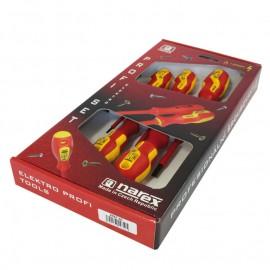 Отвертки електротехнически к-т SB/PH, 5 броя Narex Bystrice 8557 S Line Electro