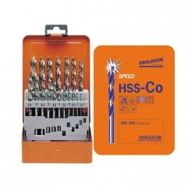 Свредла за метал HSS-Co Ø 1-13 мм, комплект 25 броя Speed Projahn