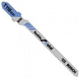 Нож за зеге за метал BiM 1.5х58 мм, T 118 EOF Bosch