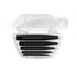Обратни метчичи-шпилковадачи за вадене на скъсани болтове, комплект 5 броя, N1-N5 Rennsteig