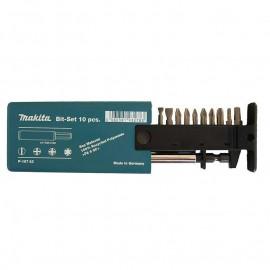 Makita , Накрайник бит комплект PH/PZ/TX/SB с магнитен държач 11 бр.