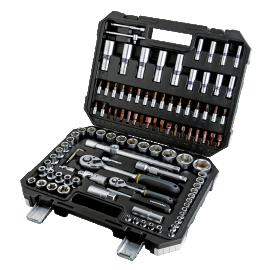 """Гедоре 1/2""""&1/4"""" 108 части, 4-32 мм Topmaster 339102"""