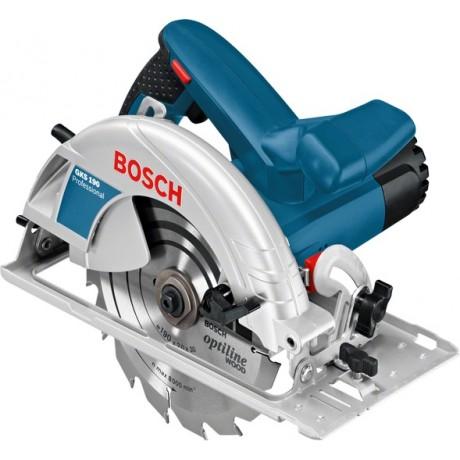 Трион циркулярен Bosch GKS 190 /1400 W, Ф 190/