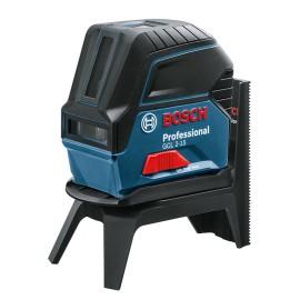 Нивелир лазерен линеен/точков Bosch GCL 2-15 Professional / 0 601 066 E00