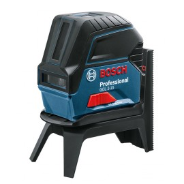 Bosch GCL 2-15, Нивелир лазерен линеен/точков 15 м, 0.3 мм/м