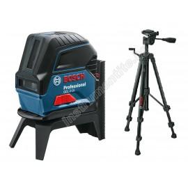 Нивелир лазерен линеен/точков с тринога к-т Bosch GCL 2-15 / 0 615 994 0FV