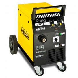 Апарат Deca заваръчен MIG/MAG с телоподаващо у-во стомана 0.6-1 мм, 190 A, 400 V, D-MIG 520T