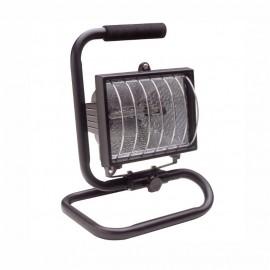 Прожектор халогенен с кабел и стойка 400W FERVI 0346