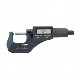 Микрометър дигитален 0-25 мм FERVI M021/00/25