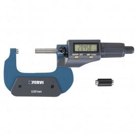 Микрометър дигитален 25-50 мм FERVI M021/25/50
